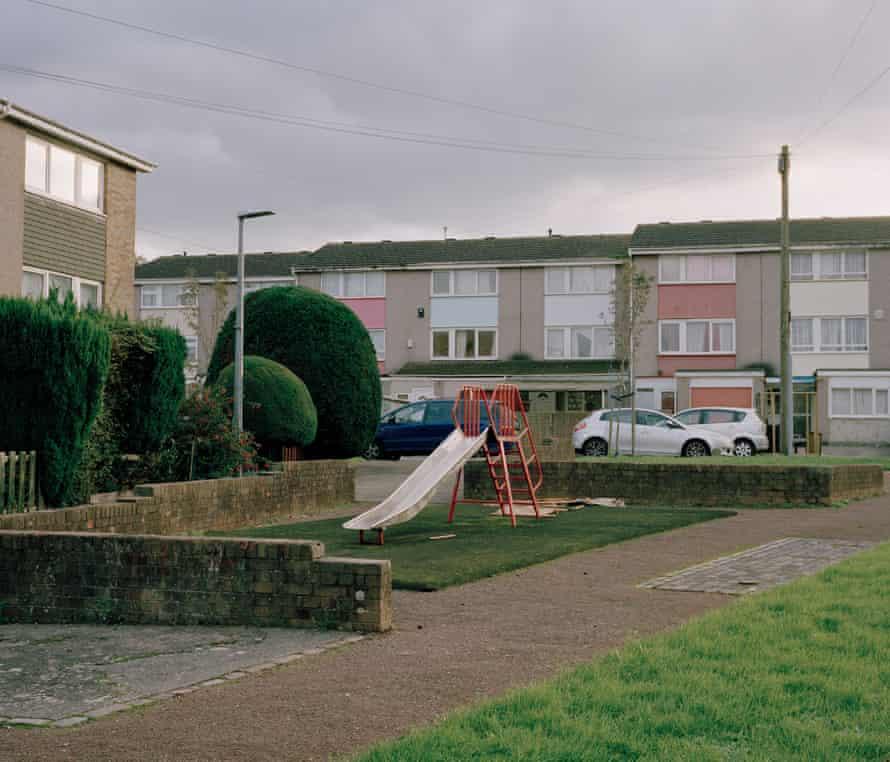 The Dark Figure Hathway Walk, Easton, Bristol