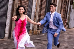 Sophie & Todd 2 – Maria and Tony in Opera Australia's 2019 touring production of West Side Story - photo credit Matthew Murphy