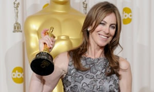 Kathryn Bigelow, still the only woman to win a best director Oscar, for The Hurt Locker in 2009
