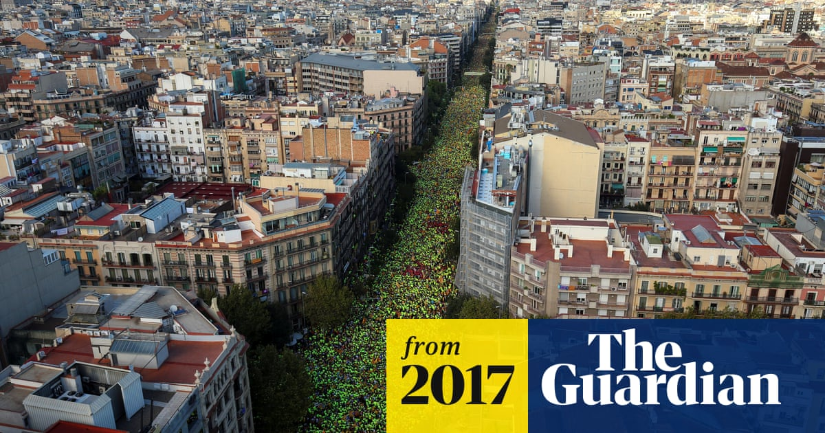 One million Catalans march for independence on region's national day