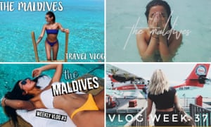 Vloggers who travelled to the Maldives