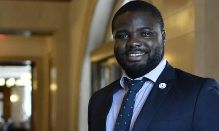 Iyinolowa Aboyeji. The 29-year-old Nigerian co-founded two of the continent's best-known startups