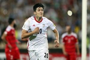 Sardar Azmoun of Iran