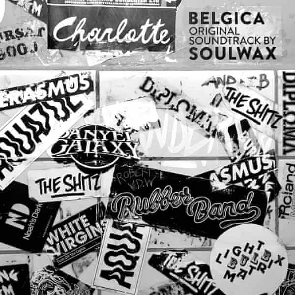 The Belgica soundtrack by Soulwax including fake band names including the Shitz.