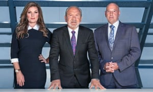 The Apprentice Karren Brady, Alan Sugar and Claude Littner
