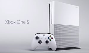 Microsoft Xbox One S and new Wireless Controller