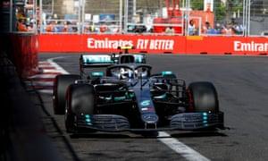 Can Bottas hold Hamilton off?