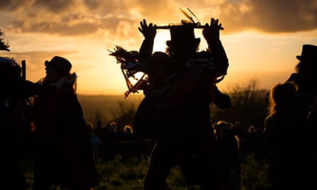 Dionysian vision … the festival of Samhain in Glastonbury.