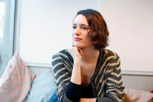 Actor and writer Phoebe Waller-Bridge at home