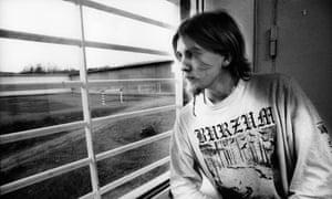 Varg Vikernes during his time in prison for murder.
