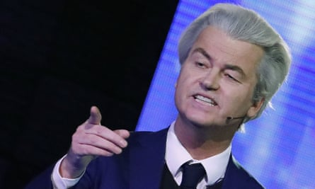 Facebook pushed its Dutch factchecker to reverse rulings against the far-right Freedom party, whose leader, Geert Wilders, is pictured.
