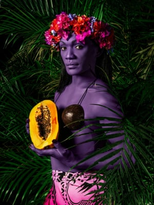 Namsa Leuba - Jury Pick Sous les Palmiers: The Myth of the 'Vahine' through Gender Dysphoria  Namsa Leuba's most recent project, Illusions, was inspired by the paintings of Paul Gauguin and other 'tropical' images in modern art that occupy the Western collective unconscious.