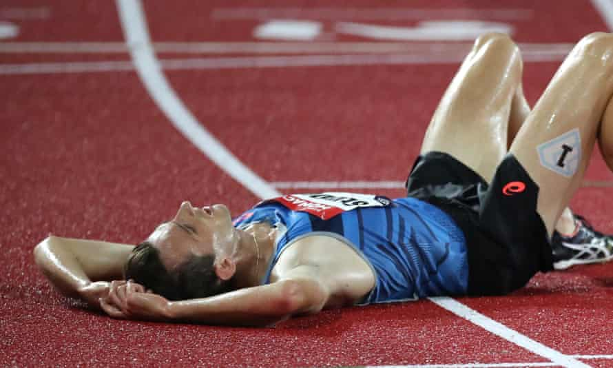 The steeplechaser Zak Seddon, pictured after competing in Monaco last year, is among the Team GB athletes isolating in Japan after a Covid-19 positive on the team's flight to the Games.