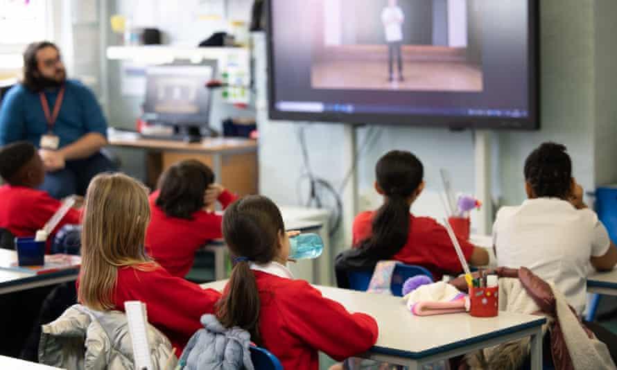 Classroom in London