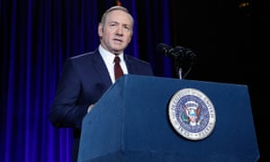 Kevin Spacey said parallels between House Of Cards season four and the US presidential race were 'always intended'.