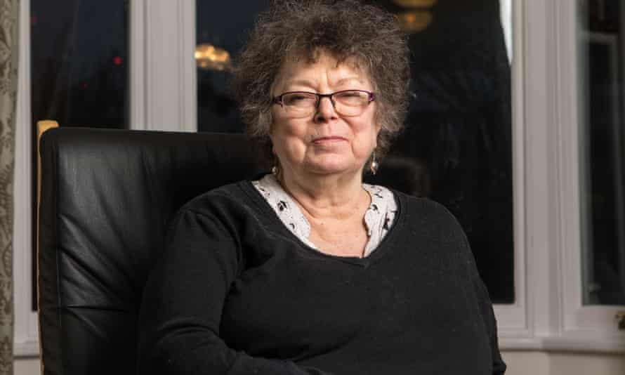 Sue Crockford at her home in north London last year.