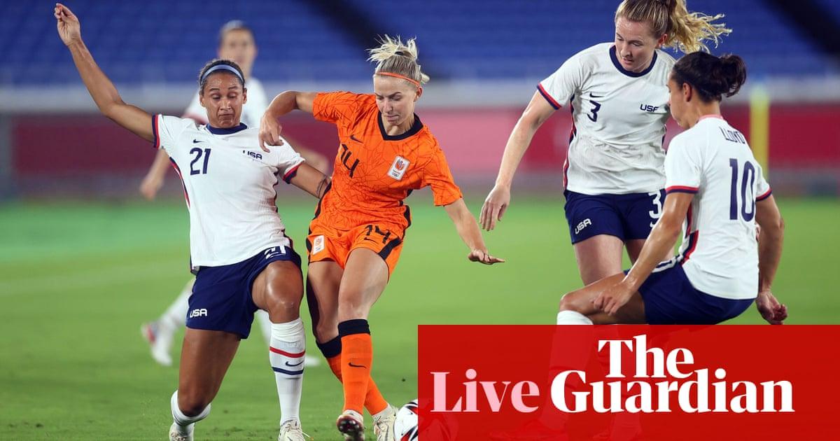 Netherlands v USA: Tokyo Olympics women's football quarter-final – live!