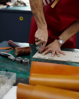 'He makes beautiful leather goods': Cherry