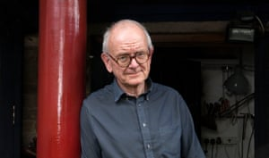 Henry Marsh ( neurosurgeon and writer) photographed at home in London for the Observer New Review by Karen Robinson.