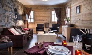 Lounge/diner in La Grange aux Fees, Valmorel.