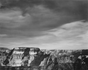 A view from the North Rim in 1942.
