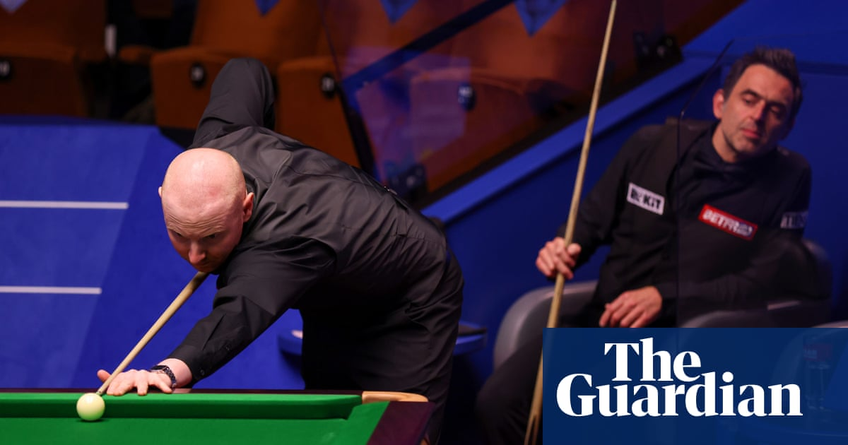 Anthony McGill dumps Ronnie O'Sullivan out of World Snooker Championship