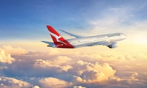 Qantas' Boeing 787-9 Dreamliner will be the first direct commercial passenger aeroplane between the two nations.