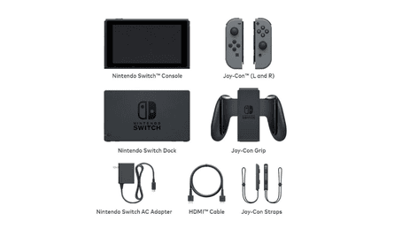 Nintendo Switch – what's in the box