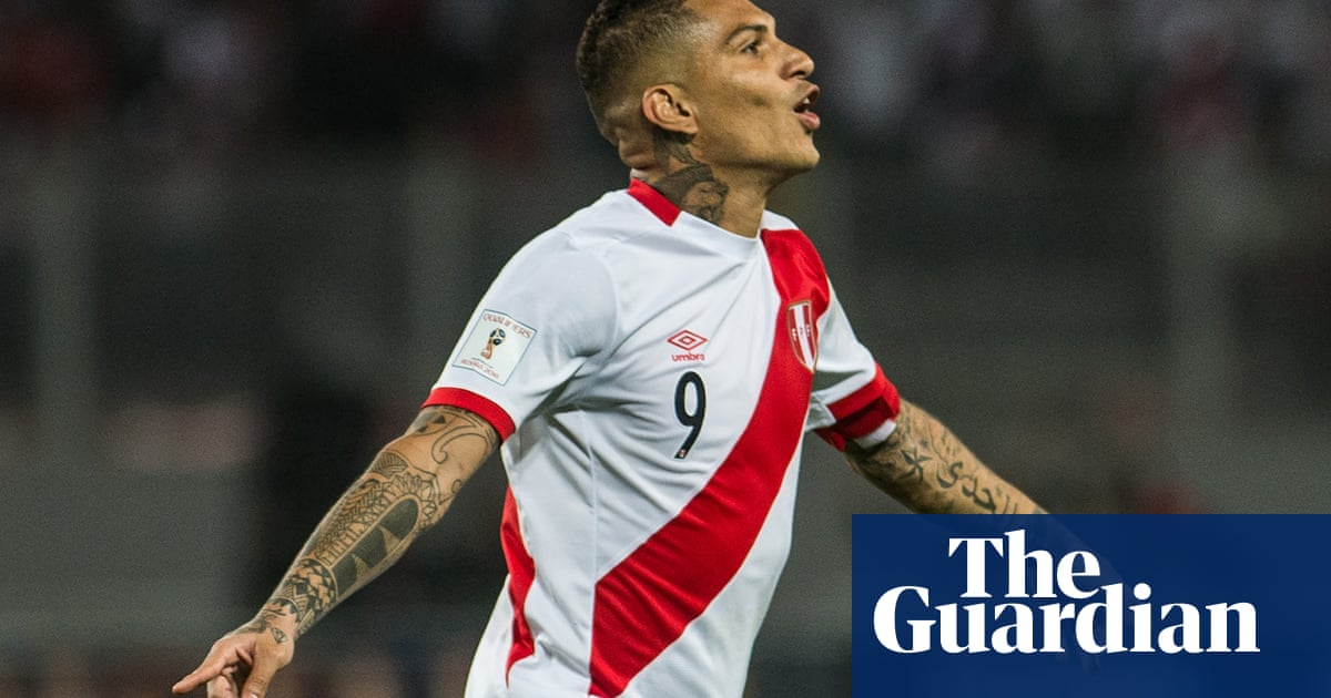 3e0af825a Paolo Guerrero cleared to play at World Cup for Peru after doping ban frozen