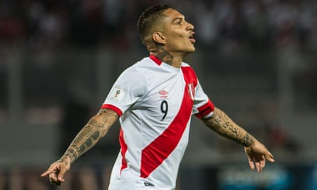 Peru's Paolo Guerrero tested positive for a metabolite of cocaine at a World Cup qualifying game against Argentina in October.