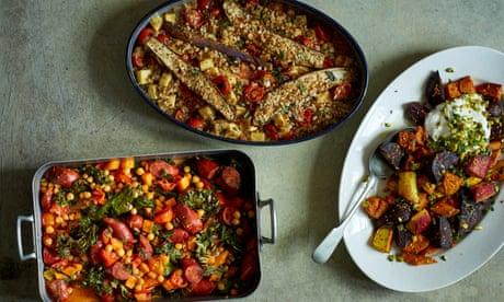 Three easy recipes for an alternative roast dinner