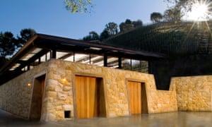 The hi-tech winery at Moraga.