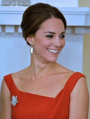 The Duchess of Cambridge in Preen.