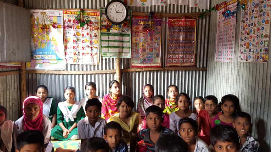 This Sohay school room in Dhaka is just 3m by 3m across but it offers hope of a brighter future for all of the children within it.