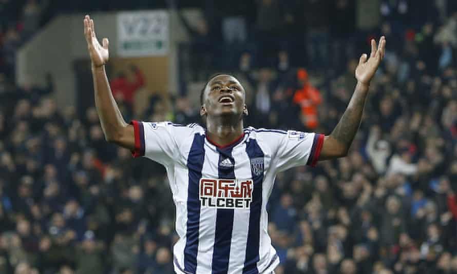West Bromwich striker Saido Berahino