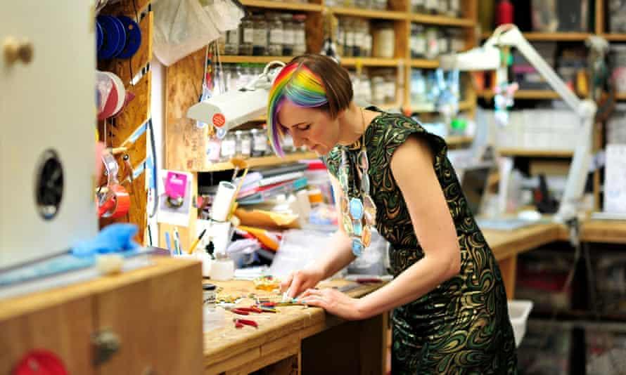 Harriet Vine at work