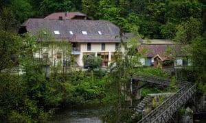 The hotel in Passau, Bavaria, where the initial three bodies were found