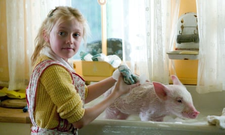 Dakota Fanning in the film version of Charlotte's Web.