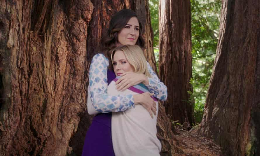 'Perfectly-constructed poignancy' ... Janet (D'Arcy Carden) and Eleanor (Kristen Bell) in The Good Place.