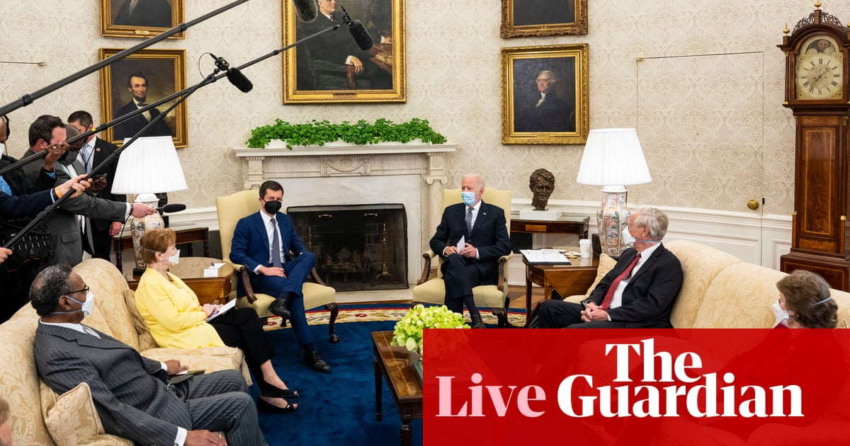 Biden says everyone in US now eligible for Covid vaccine – live updates – The Guardian