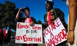 Stanford University's June graduation ceremony saw many protesting the sexual assault case, which attracted huge backlash over the light sentence given.