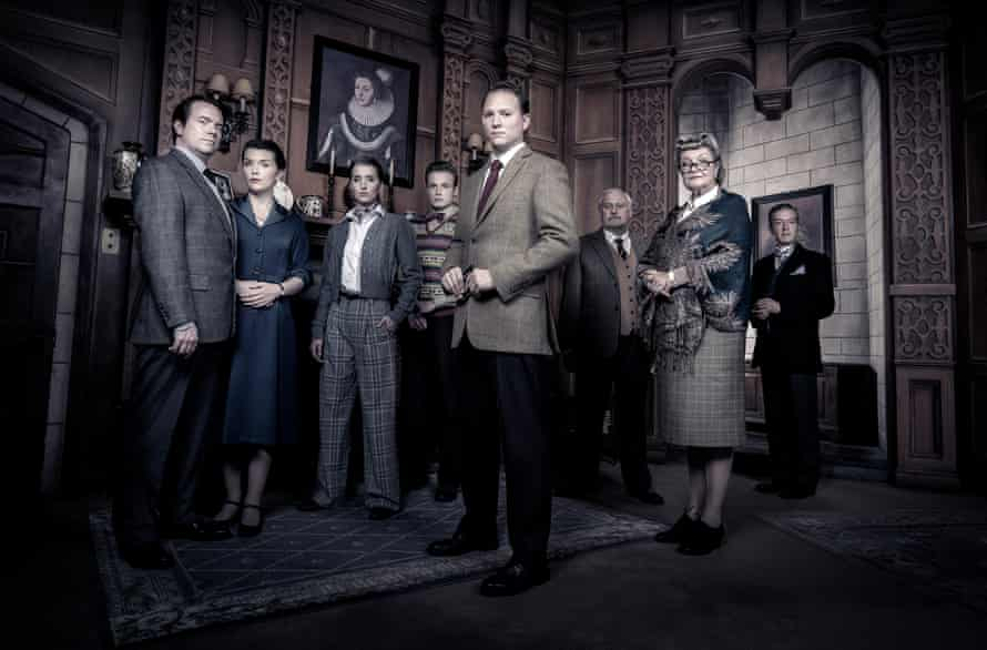 The new cast 2018-19 cast for the West End production of The Mousetrap.