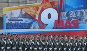 Russia's military line Red Square