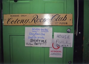 The club's famous green door, though, over the years, many would-be clients fell at the first hurdle, having being refused entry by the proprietors