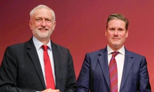 The face-off between Jeremy Corbyn and Keir Starmer underlines the tension in the Labour party over Brexit.