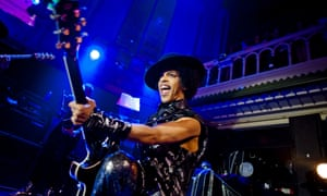 Prince performs in Amsterdam in 2013.