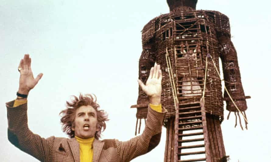 Christopher Lee in The Wicker Man, 1973.