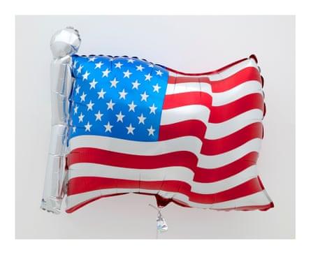 Jeff Koons, Flag, 2020
