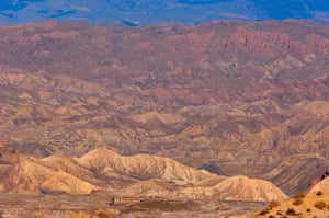 Roughly a third of Spain could be as arid as the Tabernas desert in Almería