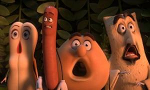 Risque … Sausage Party.